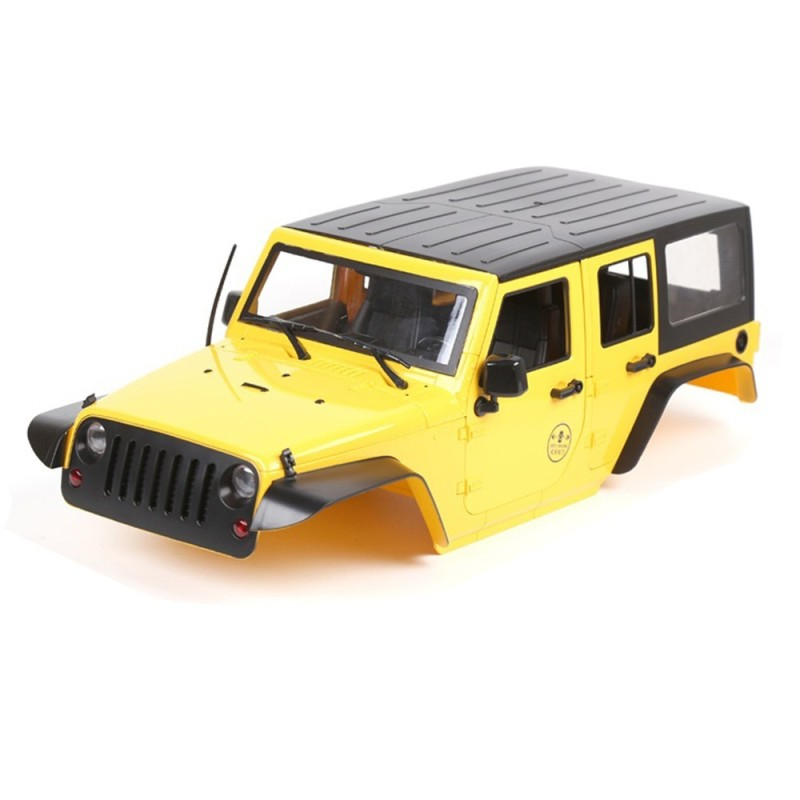 Carrosserie ABS Jaune   Jeep 4 portes 313mm CoolRacing