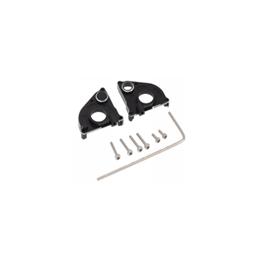 Carter de boite de transmission en alu noir  pour Axial SCX24 Hobby détail DTSCX24-15