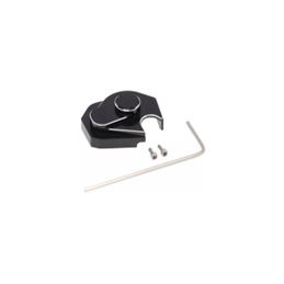 Carter de boite de transmission en alu noir  pour Axial SCX24 Hobby détail DTSCX24-16