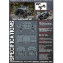 RC4WD C2X CLASS 2 COMPETITION TRUCK W/ MOJAVE II 4 ptes  Z-RTR0042