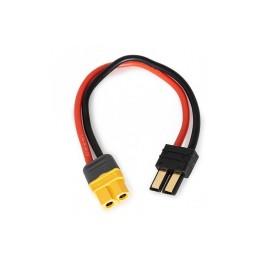 Adaptateur charge 150mm  pour accus connecteurs  Traxxas / XT60 Konect  KN-130022