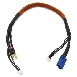 Cable de charge 40 cm avec equilibrage pour accu 3s prise EC5 Konect KN-130445