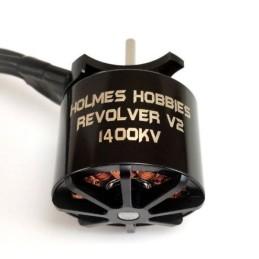 Moteur Brusless V2 Revolver 540 1400kv sensorless Holmes Hobbies