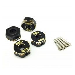 Hexagones Treal Brass Hex   Hubs  6mm  pour  Axial Capra UTB& SCX10 III X002EOIUF3