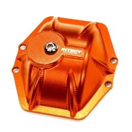 Capot de différentiel T6 alu Orange  pour AR60 Wraith / Ridgcrest Integy