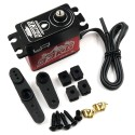 Servo IP67 Yeah Racing 33 kg waterproof coreless pour 1/10 crawler rouge - YE-0034RD