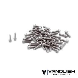 Kit de vis US 1-64 de roue inoxydable Scale Vanquish - VPS05002
