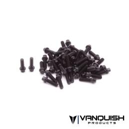 Kit de vis US 1-64 de roue Scale Noir Vanquish - VPS05003