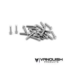 Kit de vis US Scale M2x8mm SS acier inoxydable Vanquish - VPS01710
