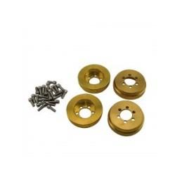 Lests de roues en laiton 1.9/2.2 Hobby Details (4) - DTUP08004