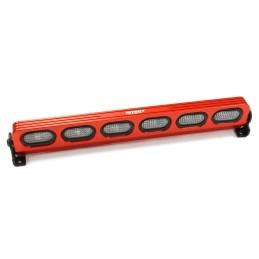 Rampe de toit T5 réalistic Rouge 6 leds Integy