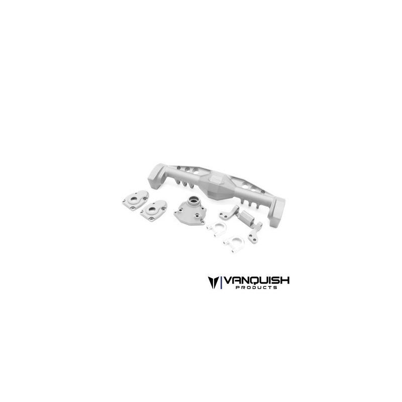 Coque de pont portique alu silver arrière SCX10-III Currie F9 Vanquish - VPS08493