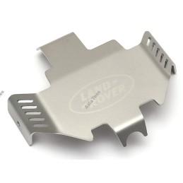 Tôle de protection de châssis silver GRC avec Land Rover logo pour TRX-4 - GRC/GAX0106A2