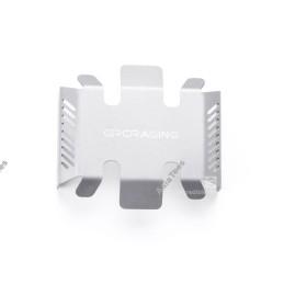 Tôle de protection de chassis silver avec GRC logo pour MST CFX - GRC/GAX0131A