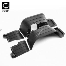 Garde-boue avant et arrière en plastique GRC pour Axial SCX10-II - GRC/GAX0011P