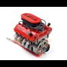 Simulation Moteur F76 SOHC V8 Scale Engine Kit Rouge GRC - GRC/G164AR