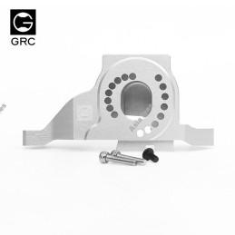 Support moteur silver GRC Aluminium 7075 One-piece Design Motor Mount for TRX4 - GRC/GAX0087S