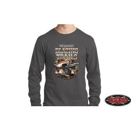 Tee-shirt XL gris manches longues RC4WD Blazing Trails - Z-L0373