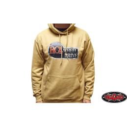 Sweat-shirt 2XL beige à capuche Wheel Drive RC4WD - Z-L0363