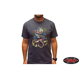 Tee-shirt 2XL gris DogFunk RC4WD - Z-L0339
