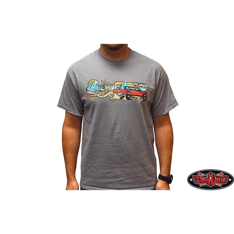 Tee-shirt L gris RC4WD - Z-L0331