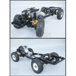 Chassis Scale RC Run 1/10 Pro 4WD RC Clawer sans carrosserie - R-80