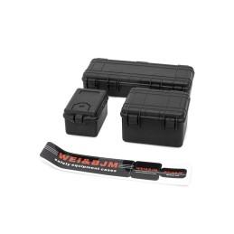 Set de 3 valises de protection noires HOBBYTECH (3 pièces) - HT-SU1801149