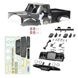 Carrosserie complète pré-peinte Crawler Survival avec accessoires HOBBYTECH - HT-SU1803020-RTR