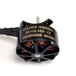 Moteur Revolver V2 Snubnose 1800KV Holmes Hobbies