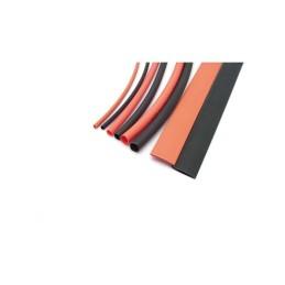 Assortiment de tubes thermorétractables 1.5/3/5/8mm 20cm rouge/noir KONECT - KN-130100