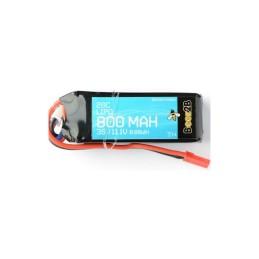 Batterie Lipo 3S 11.1v 800mAh 20C BEEZ2B - BEEBAF3S800