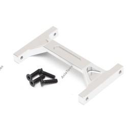 Renfort de châssis arrière aluminium silver TEAM RAFFEE pour Element RC Enduro - TRC/1059007RS