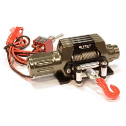 Treuil full métal Gun T10 High Torque scale Rockcrawler Integy