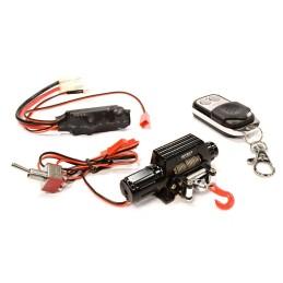 Treuil full métal Noir T10 Réalistic Méga scale crawler1/10e avec télécommande  Integy
