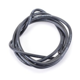 5ml Fil silicone Noir 2.5 mm2-14AWG  H-Speed