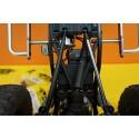 Entretoise lien alu Gun métal 60mm Yeah racing (2)