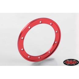 Anneaux alu Rouge pour jantes 1.9 beadlocks - RC4WD