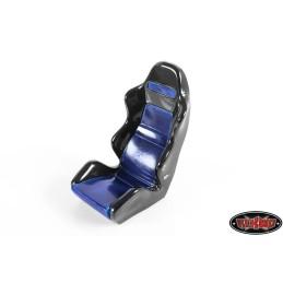 Siège bacquet Racing Scale noir et bleu foncé RC4WD