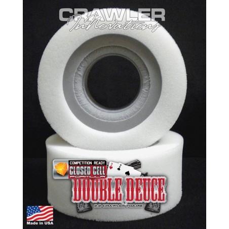 Mousse pour pneu 2.2 Double Deuce en 6.0 Comp Cut - narrow inner/ soft outer Crawler Innovations