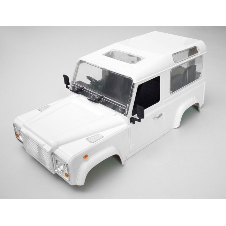 Carrosserie 1/10 Land Rover Defender D90 Hard Plastic Body Kit RC4WD