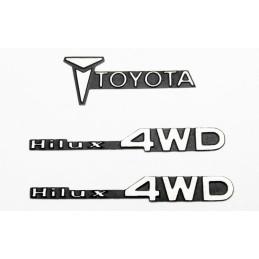 Embleme décoration  1/10e métal Tamiya Hilux par RC4WD