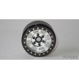 Jantes alu Silver Steel Trail Beadlock 1.9  SSD