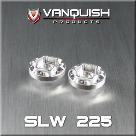 Hexagone alu Hub SLW 225 epaisseur 6mm Vanquish VPS01042