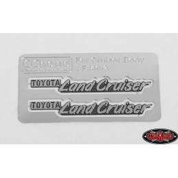 Embleme métal de carrosserie  RC4WD Cruiser