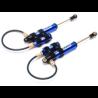 Amortisseurs Boomerang type G Piggyback 110mm Bleus BoomRacing
