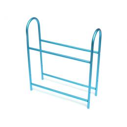 Rack a pneus alu bleu Team Raffee - BoomRacing