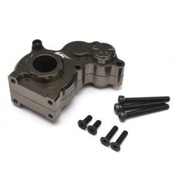Carter de boite alu Gun Métal pour Axial SCX10 - BoomRacing