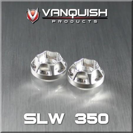 Hexagone alu Hub SLW 350 epaisseur 9mm Vanquish VPS01040