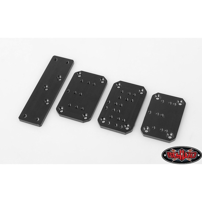 Plaques supports universels fixation de treuil RC4WD