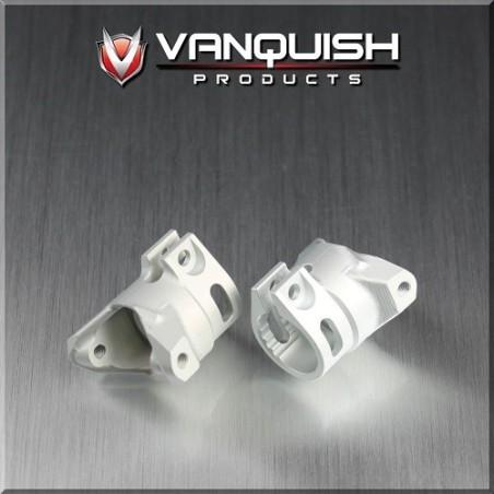 Porte fusée c-hubs aluminium silver pour pont Axial Wraith Vanquish